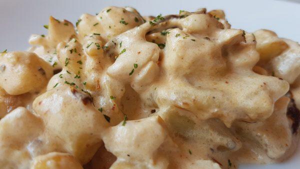 Gnocchi z kremem grzybowym