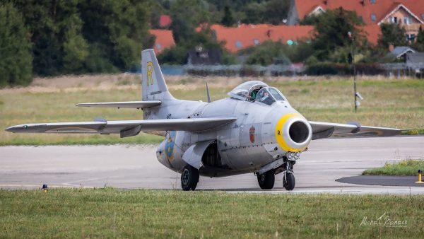 Saab J29 Tunnan (fot. Michał Banach)