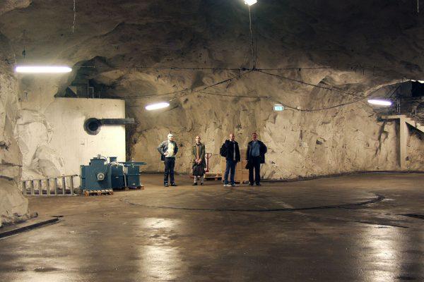Pionen przed przebudową (fot. Jonas Krantz)