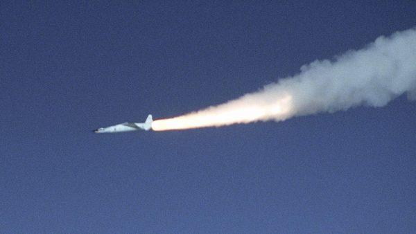 X-43 podczas lotu 16 listopada 2004 roku