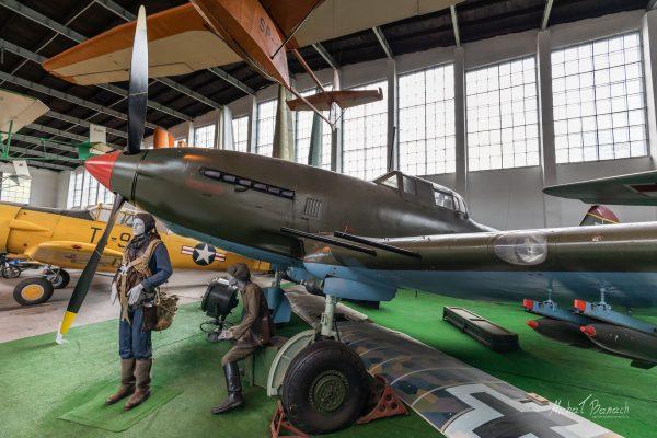 Avia B-33 w Muzeum Lotnictwa Polskiego w Krakowie (fot. Michał Banach)