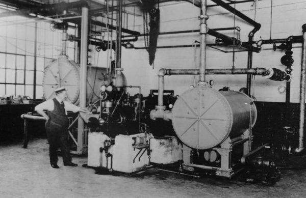 System klimatyzacyjny z 1922 roku