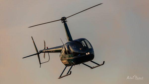 Robinson R44 Raven (SP-MAT) (fot. Michał Banach)