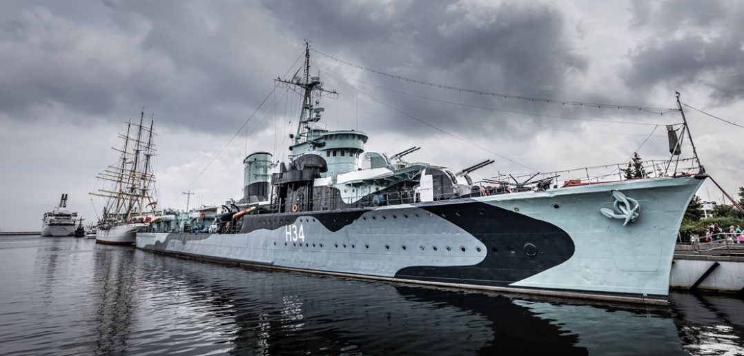 ORP Błyskawica - najsłynniejszy polski niszczyciel