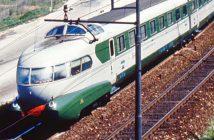 Settebello - FS Class ETR 300 - luksusowy włoski pociąg z lat 50.