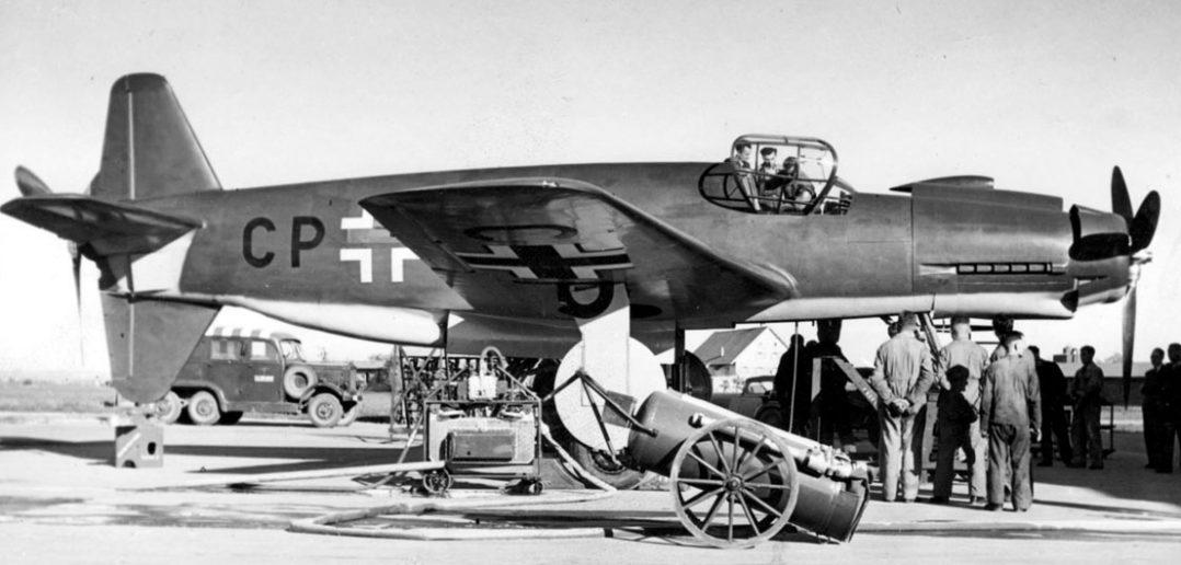 Ciężki myśliwiec Dornier Do 335 Pfeil