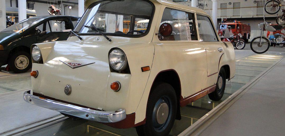 SFM Smyk B30 - polski mikrosamochód z lat 50.