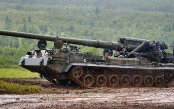 Radziecka armata samobieżna 2S7 Pion