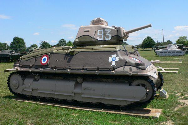 Somua S-35 w Army Ordnance Museum w Aberdeen przed likwidacją muzeum