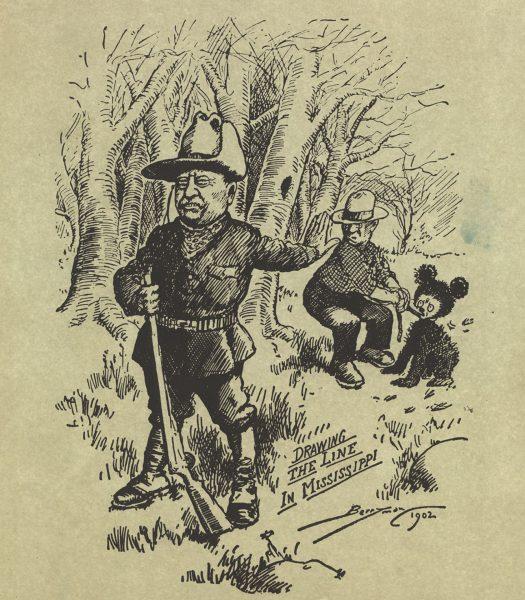 Karykatury autorstwa Clifforda Berrymana z 1902 roku