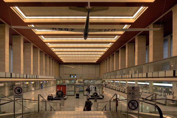 Port Lotniczy Berlin-Tempelhof (fot. S-b/Wikimedia Commons)