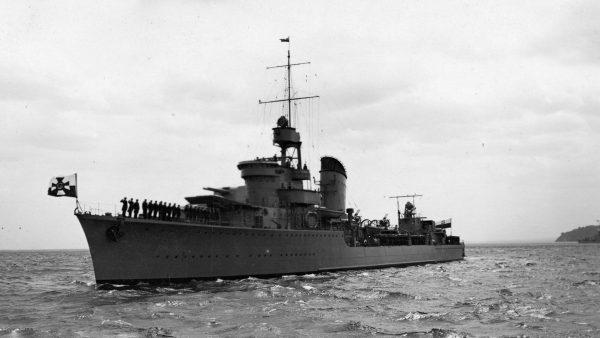 ORP Błyskawica (fot. Muzeum Marynarki Wojennej w Gdyni)