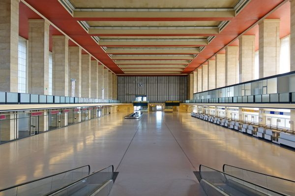 Port Lotniczy Berlin-Tempelhof (fot. Membeth/Wikimedia Commons)