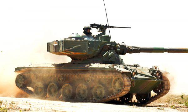SK 105 Kürassier (fot. Ministério da Defesa)