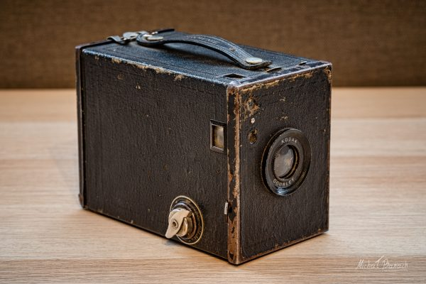 Kodak No. 2 Brownie Special z lat 1933-1934 (fot. Michał Banach)