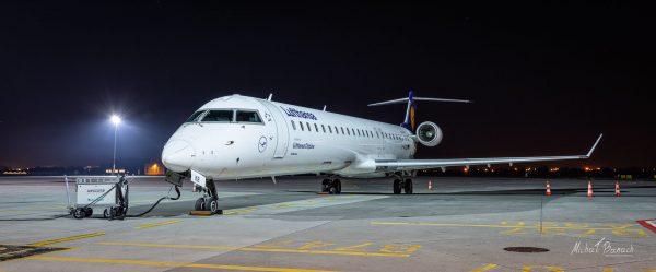 Bombardier CRJ-900LR (D-ACKB) (fot. Michał Banach)