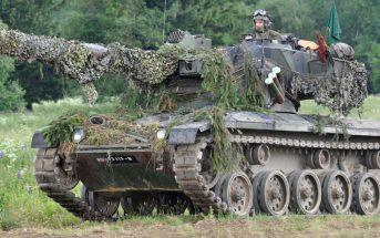 SK 105 Kürassier - austriacki czołg lekki i niszczyciel czołgów
