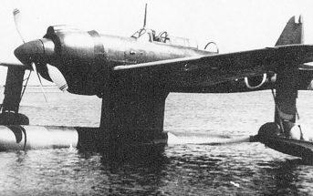 Kawanishi E15K - zapomniany japoński szybki wodnosamolot