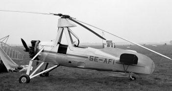 Cierva C.30 - najpopularniejszy przedwojenny wiatrakowiec