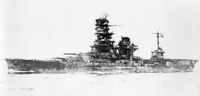 Japońskie pancerniki typu Ise – od pancernika do lotniskowca