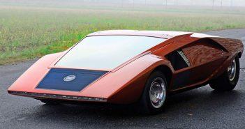 Zapomniana Lancia Stratos Zero z 1970 roku