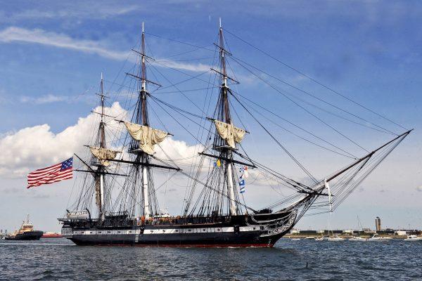 USS Constitution współcześnie
