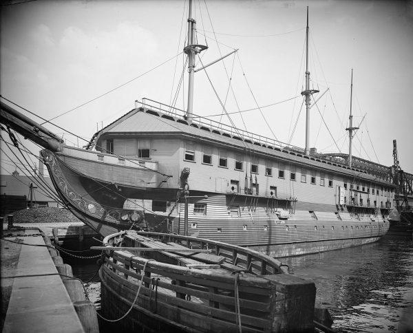 USS Constitution w 1905 roku