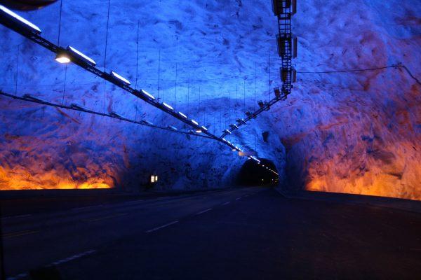 Tunel Lærdal (fot. Patrick Reijnders)