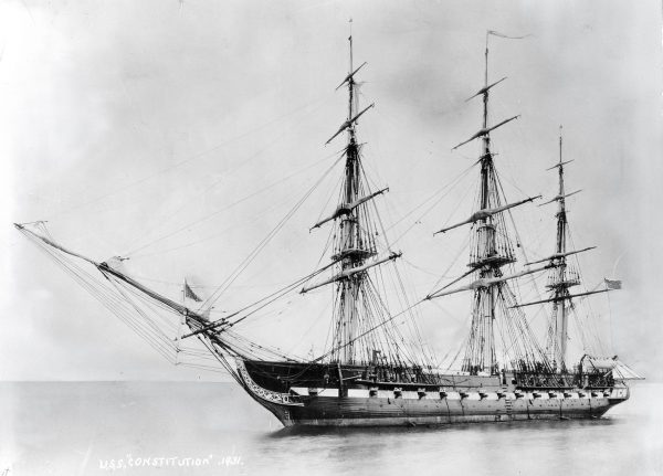 USS Constitution w 1931 roku