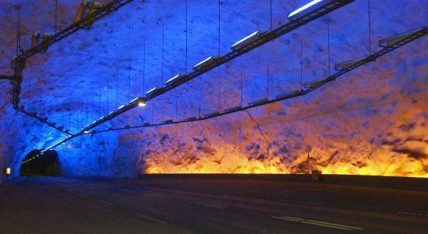 Tunel Lærdal (fot. Jørn Eriksson)