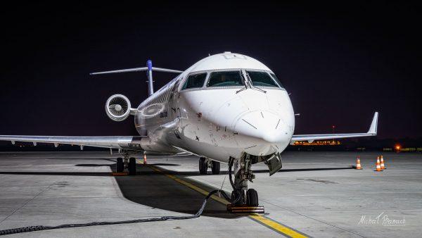 Bombardier CRJ-900LR (D-ACNB) (fot. Michał Banach)