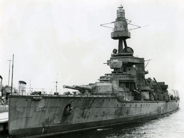 HSwMS Drottning Victoria podczas złomowania
