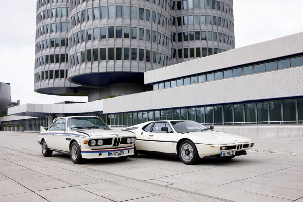 BMW 3.0 CSL i BMW M1 (fot. BMW AG)