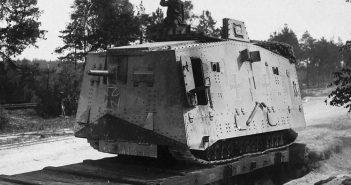 A7V - jedyny niemiecki czołg z I wojny światowej