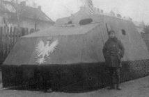 Tank Piłsudskiego - improwizowany polski samochód pancerny z Lwowa