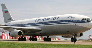 Ił-86 - pierwszy radziecki szerokokadłubowy samolot pasażerski