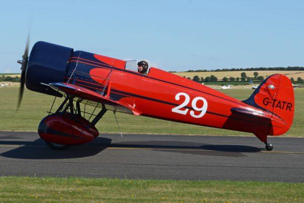 Replika Travel Air Type R (G-TATR) (fot. Alan Wilson)