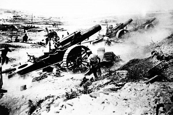 Brytyjska artyleria podczas I wojny światowej