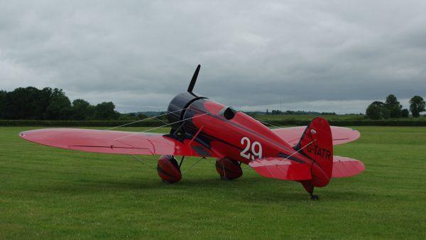 Replika Travel Air Type R (G-TATR) (fot. TSRL/Wikimedia Commons)