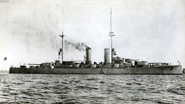 HSwMS Sverige w pierwotnej konfiguracji