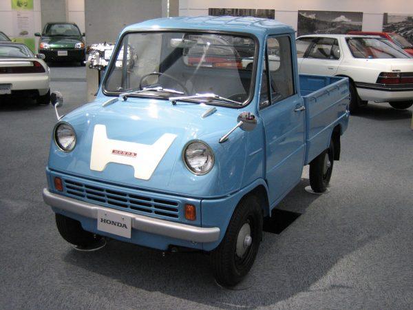 Honda T360 (fot. 韋駄天狗/Wikimedia Commons)