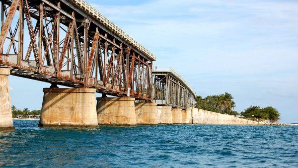 Bahia Honda Rail Bridge (fot. Mberjanocc)