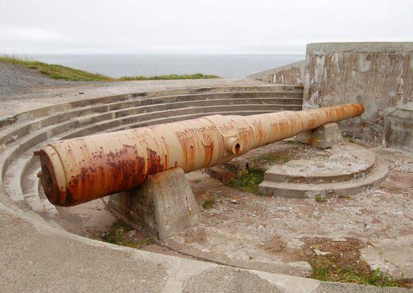 Cape Spear Battery (fot. Nilfanion/Wikimedia Commons)