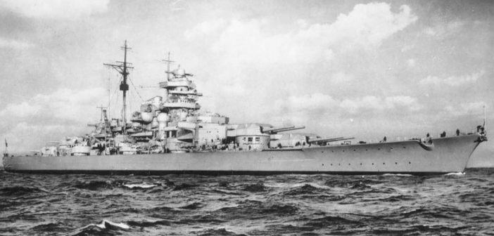 Pancerniki typu Bismarck – ostatnie niemieckie pancerniki