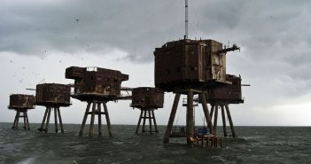 Maunsell Forts - niesamowite forty na Tamizie