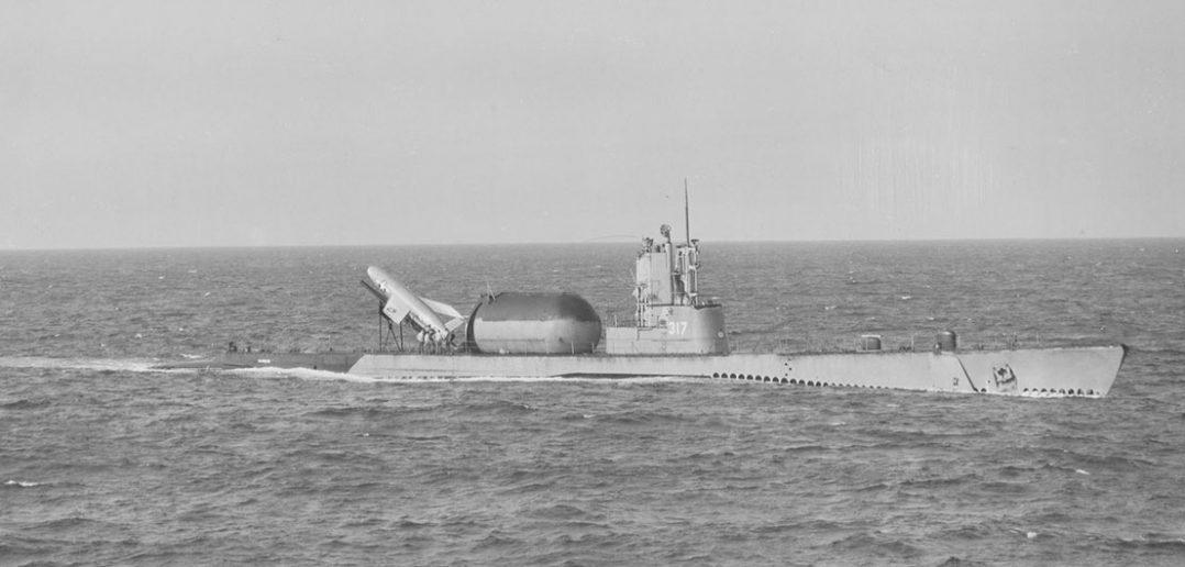USS Barbero i poczta rakietowa (1959)