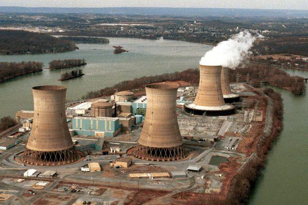 Elektrownia jądrowa Three Mile Island (fot.  thebalance.com)