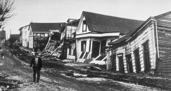 Ruiny miejscowości Valdivia