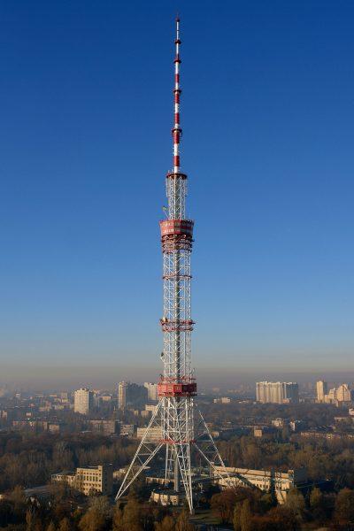 Kijowska wieża telewizyjna (fot. Wkimedia Commons)