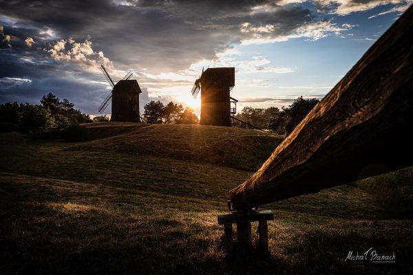 Wiatraki w Moraczewie (fot. Michał Banach)